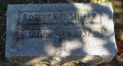 MILLER, ROSETTA C. - Erie County, Ohio   ROSETTA C. MILLER - Ohio Gravestone Photos