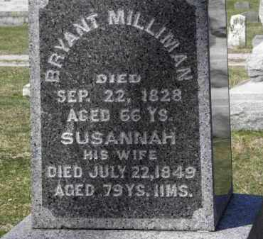 MILLIMAN, SUSANNAH - Erie County, Ohio | SUSANNAH MILLIMAN - Ohio Gravestone Photos