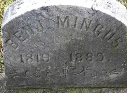 MINGUS, BENJ. - Erie County, Ohio   BENJ. MINGUS - Ohio Gravestone Photos