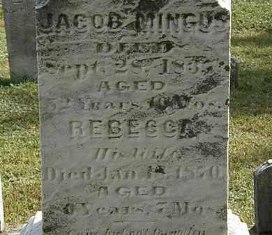 MINGUS, REBECCA - Erie County, Ohio   REBECCA MINGUS - Ohio Gravestone Photos