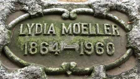 MOELLER, LYDIA - Erie County, Ohio   LYDIA MOELLER - Ohio Gravestone Photos