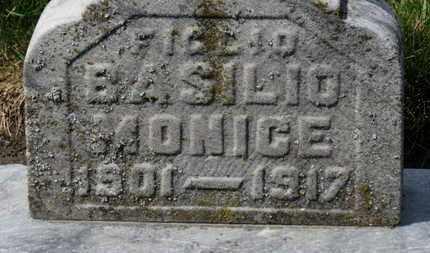 MONICE, FIGLIE BASILIO - Erie County, Ohio | FIGLIE BASILIO MONICE - Ohio Gravestone Photos