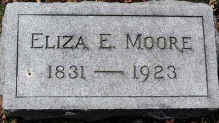 MOORE, ELIZA E. - Erie County, Ohio | ELIZA E. MOORE - Ohio Gravestone Photos