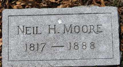 MOORE, NEIL H. - Erie County, Ohio | NEIL H. MOORE - Ohio Gravestone Photos
