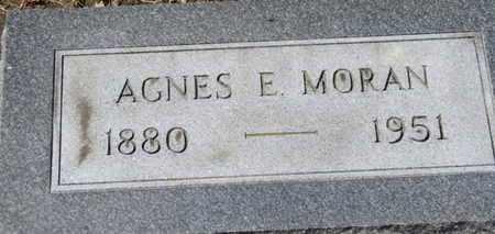 MORAN, AGNES E. - Erie County, Ohio | AGNES E. MORAN - Ohio Gravestone Photos
