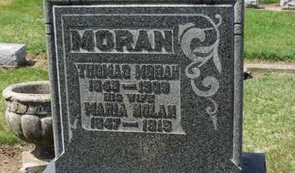 MORAN, THOMAS - Erie County, Ohio   THOMAS MORAN - Ohio Gravestone Photos