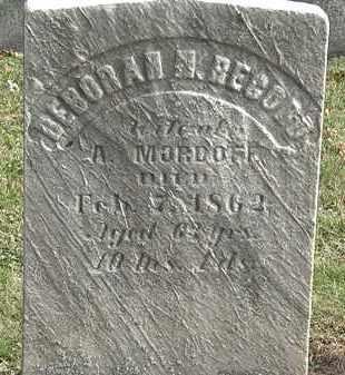 MORDOFF, A. - Erie County, Ohio | A. MORDOFF - Ohio Gravestone Photos