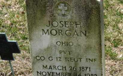 MORGAN, JOSEPH - Erie County, Ohio | JOSEPH MORGAN - Ohio Gravestone Photos
