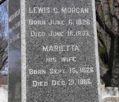 MORGAN, LEWIS C. - Erie County, Ohio | LEWIS C. MORGAN - Ohio Gravestone Photos