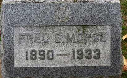 MORSE, FRED G. - Erie County, Ohio | FRED G. MORSE - Ohio Gravestone Photos