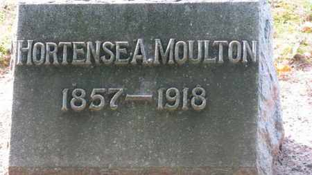 MOULTON, HORTENSE A. - Erie County, Ohio | HORTENSE A. MOULTON - Ohio Gravestone Photos