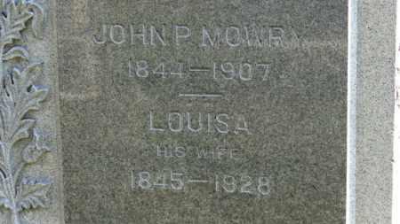 MOWRY, LOUISA - Erie County, Ohio | LOUISA MOWRY - Ohio Gravestone Photos