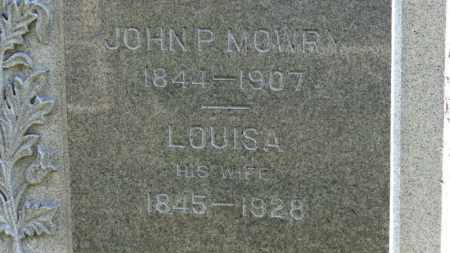 MOWRY, LOUISA - Erie County, Ohio | LOUISA MOWRY - Ohio Gravestone Photos