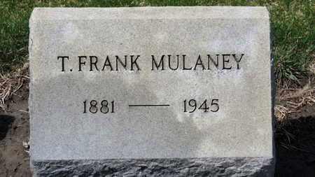 MULANEY, T. FRANK - Erie County, Ohio   T. FRANK MULANEY - Ohio Gravestone Photos
