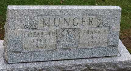 MUNGER, FRANK - Erie County, Ohio | FRANK MUNGER - Ohio Gravestone Photos