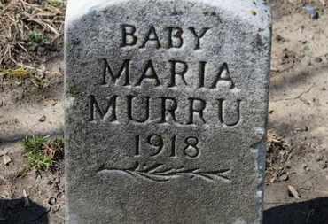 MURRU, MARIA - Erie County, Ohio | MARIA MURRU - Ohio Gravestone Photos