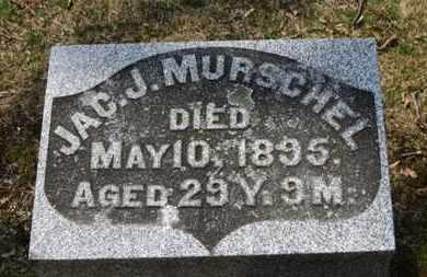 MURSCHEL, JAC. J. - Erie County, Ohio | JAC. J. MURSCHEL - Ohio Gravestone Photos