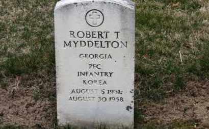 MYDDELTON, ROBERT T. - Erie County, Ohio   ROBERT T. MYDDELTON - Ohio Gravestone Photos