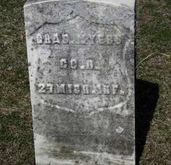 MYERS, CHAS - Erie County, Ohio | CHAS MYERS - Ohio Gravestone Photos