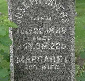 MYERS, MARGARET - Erie County, Ohio | MARGARET MYERS - Ohio Gravestone Photos