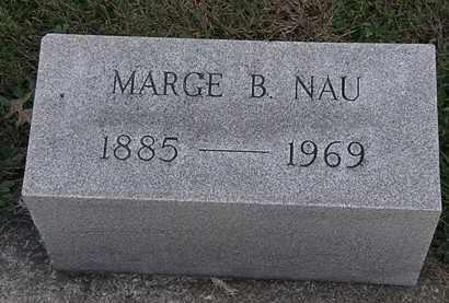 NAU, MARGE B. - Erie County, Ohio   MARGE B. NAU - Ohio Gravestone Photos