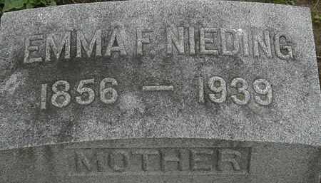 NEIDING, EMMA F. - Erie County, Ohio | EMMA F. NEIDING - Ohio Gravestone Photos
