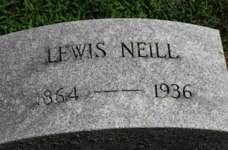 NEILL, LEWIS - Erie County, Ohio | LEWIS NEILL - Ohio Gravestone Photos