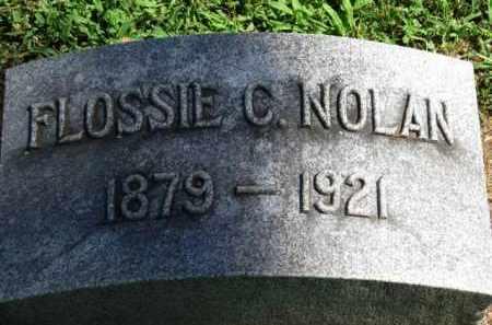 NOLAN, FLOSSIE C. - Erie County, Ohio | FLOSSIE C. NOLAN - Ohio Gravestone Photos