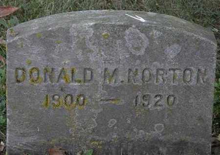 NORTON, DONALD M. - Erie County, Ohio | DONALD M. NORTON - Ohio Gravestone Photos