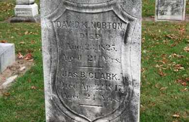 NORTON, DAVID K. - Erie County, Ohio | DAVID K. NORTON - Ohio Gravestone Photos