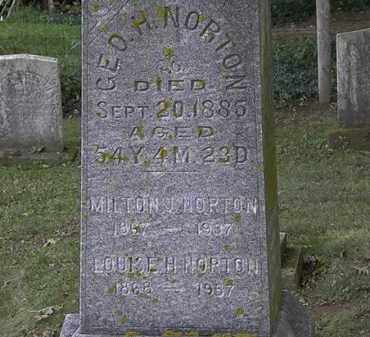NORTON, MILTON - Erie County, Ohio | MILTON NORTON - Ohio Gravestone Photos
