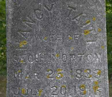 NORTON, NANCY - Erie County, Ohio   NANCY NORTON - Ohio Gravestone Photos