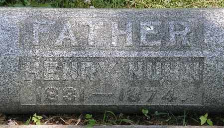 NUHN, HENRY - Erie County, Ohio | HENRY NUHN - Ohio Gravestone Photos
