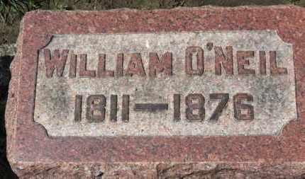 O'NEIL, WILLIAM - Erie County, Ohio | WILLIAM O'NEIL - Ohio Gravestone Photos