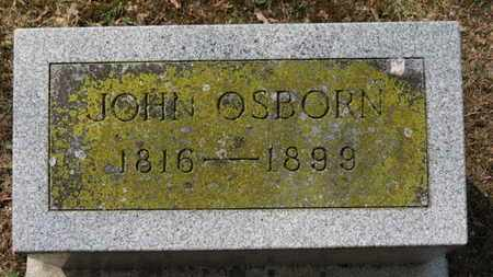 OSBORN, JOHN - Erie County, Ohio | JOHN OSBORN - Ohio Gravestone Photos