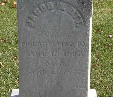 OTT, JACOB W. - Erie County, Ohio | JACOB W. OTT - Ohio Gravestone Photos