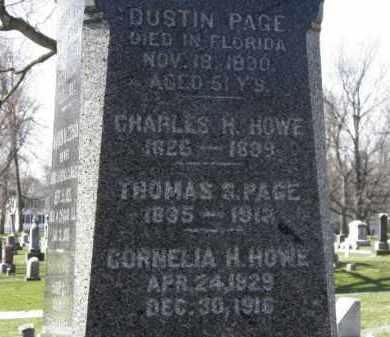 HOWE, CHARLES H. - Erie County, Ohio | CHARLES H. HOWE - Ohio Gravestone Photos