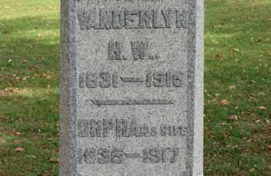PALMER, VANDERLYN H. W. - Erie County, Ohio   VANDERLYN H. W. PALMER - Ohio Gravestone Photos