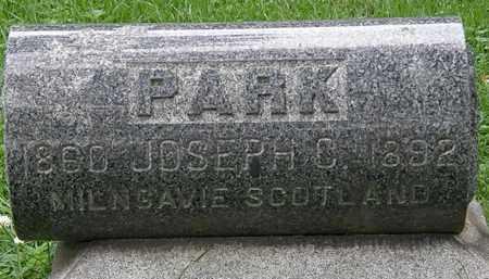 PARK, JOSEPH C - Erie County, Ohio   JOSEPH C PARK - Ohio Gravestone Photos