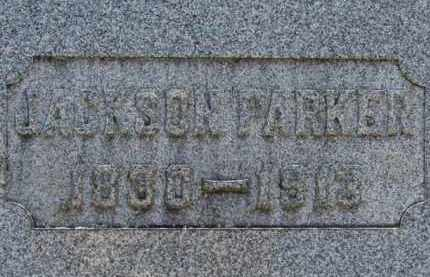 PARKER, JACKSON - Erie County, Ohio   JACKSON PARKER - Ohio Gravestone Photos