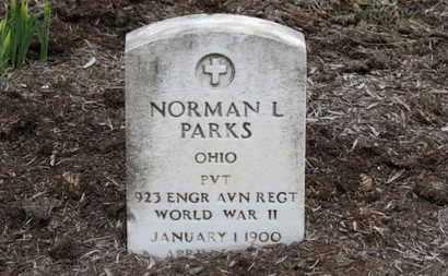 PARKS, NORMAN L. - Erie County, Ohio | NORMAN L. PARKS - Ohio Gravestone Photos