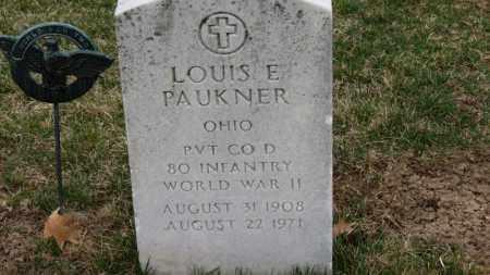 PAUKNER, LOUIS E. - Erie County, Ohio   LOUIS E. PAUKNER - Ohio Gravestone Photos