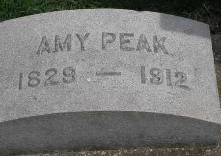 PEAK, AMY - Erie County, Ohio   AMY PEAK - Ohio Gravestone Photos