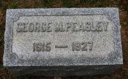 PEASLEY, GEORGE M. - Erie County, Ohio   GEORGE M. PEASLEY - Ohio Gravestone Photos