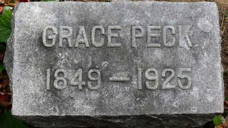 PECK, GRACE - Erie County, Ohio   GRACE PECK - Ohio Gravestone Photos