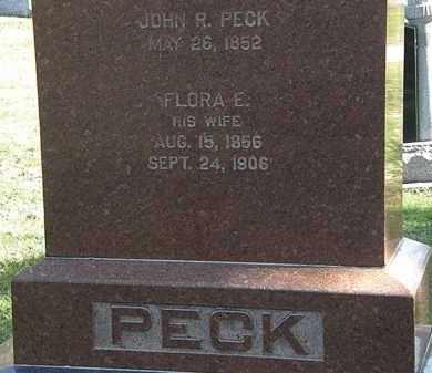 PECK, JOHN R. - Erie County, Ohio | JOHN R. PECK - Ohio Gravestone Photos