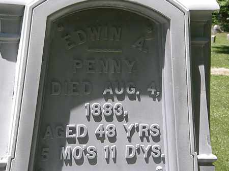 PENNY, EDWIN A. - Erie County, Ohio | EDWIN A. PENNY - Ohio Gravestone Photos