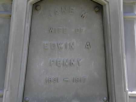 PENNY, JANE M. - Erie County, Ohio | JANE M. PENNY - Ohio Gravestone Photos