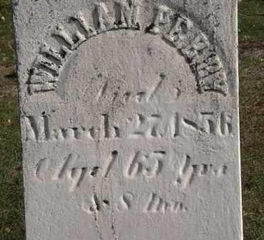 PERRY, WILLIAM - Erie County, Ohio   WILLIAM PERRY - Ohio Gravestone Photos
