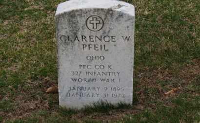 PFEIL, CLARENCE W. - Erie County, Ohio | CLARENCE W. PFEIL - Ohio Gravestone Photos